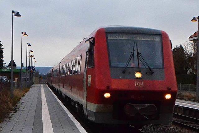 Hochrheinstrecke: Verspätungen wegen technischen Defekts