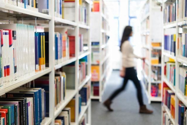 Bibliotheksleiterin: