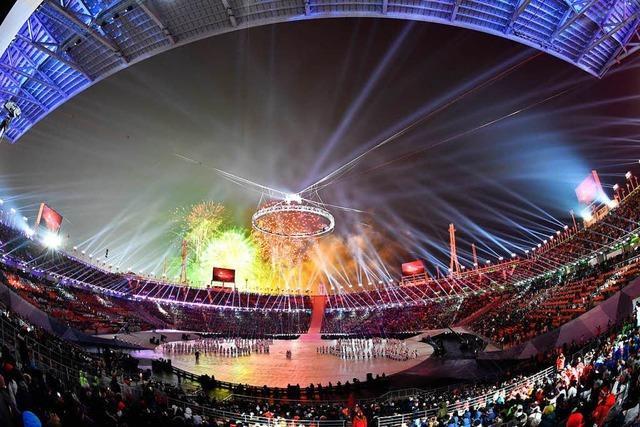 Die Eröffnungsfeier der Olympischen Winterspiele in Pyeongchang hat begonnen