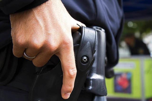 Polizisten müssen Pferd nach Autounfall bei Wagenstadt erschießen