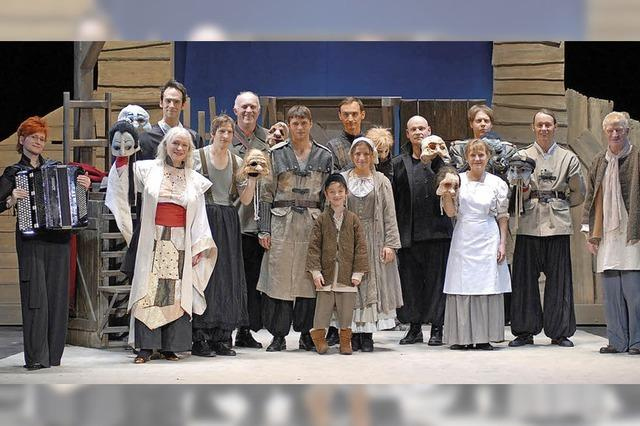 Brecht-Inszenierung von Peter Brause ist am 25. Februar in der Stadthalle Tiengen zu sehen