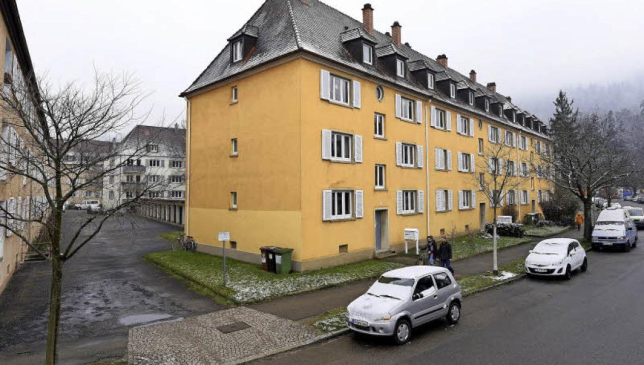 Die Genossenschaft Familienheim will d...erstraße 1-9 durch Neubauten ersetzen.  | Foto: Thomas Kunz