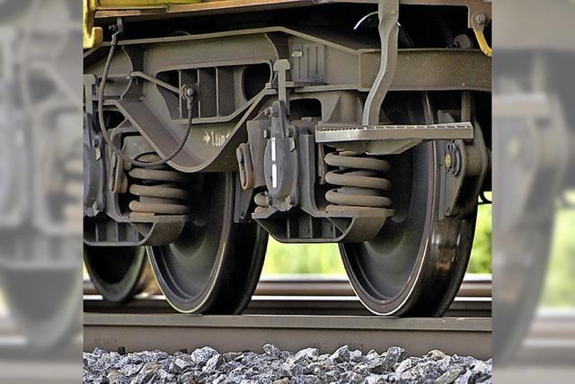 Weniger Lärm entlang der Gleise