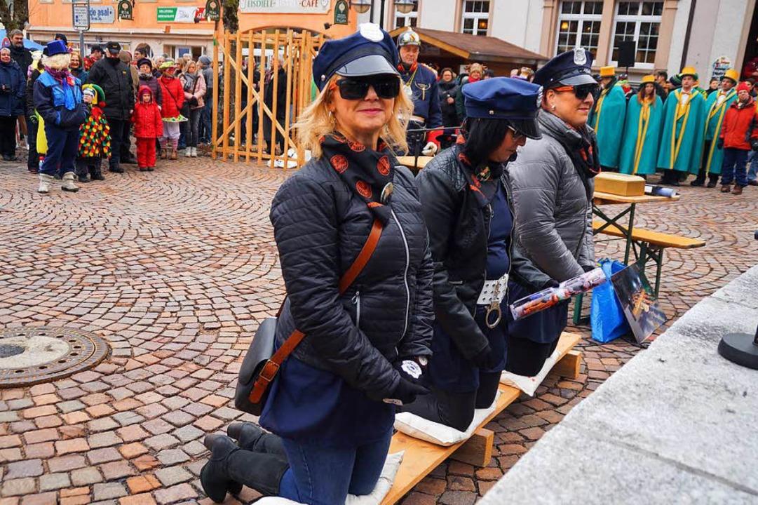 Drei Engel für Noldi warten auf ihr Urteil.  | Foto: Verena Wehrle