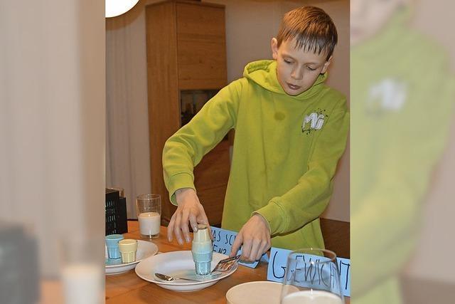 Milch macht kleine Forscher munter
