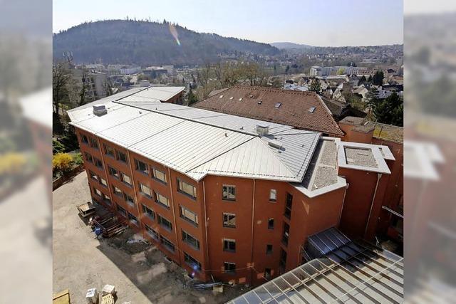 Neues Bettenhaus für Krankenhaus in Lahr