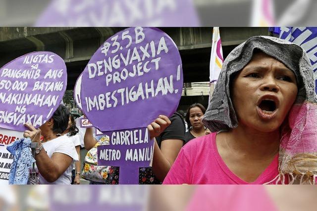 Impfskandal auf den Philippinen