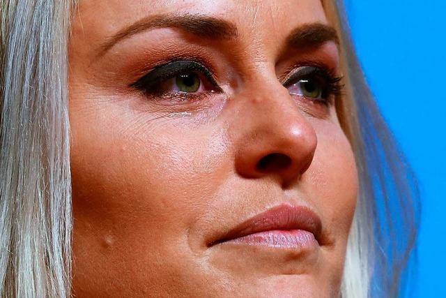 Die letzten olympischen Spiele für Lindsey Vonn
