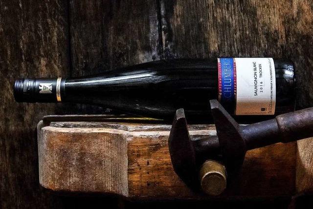 Handarbeit vom Chef persönlich – das Weingut H. Schlumberger