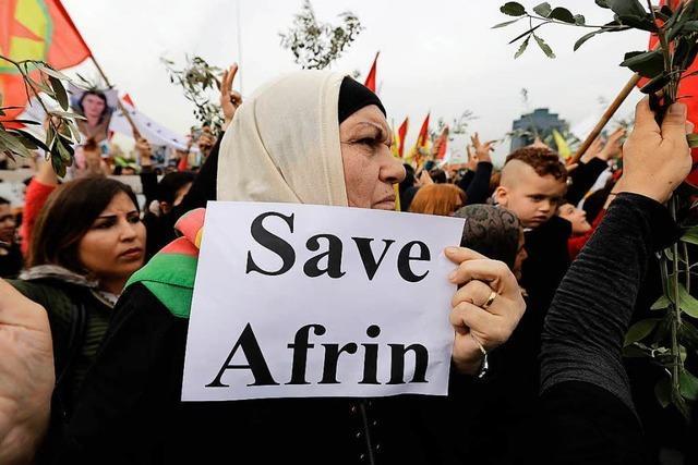 Syrische Familie bangt im Hochschwarzwald um Verwandte im Kriegsgebiet Afrin
