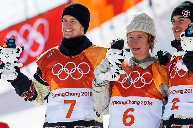 17-jähriger Gerard gewinnt olympisches Snowboard-Gold im Slopestyle