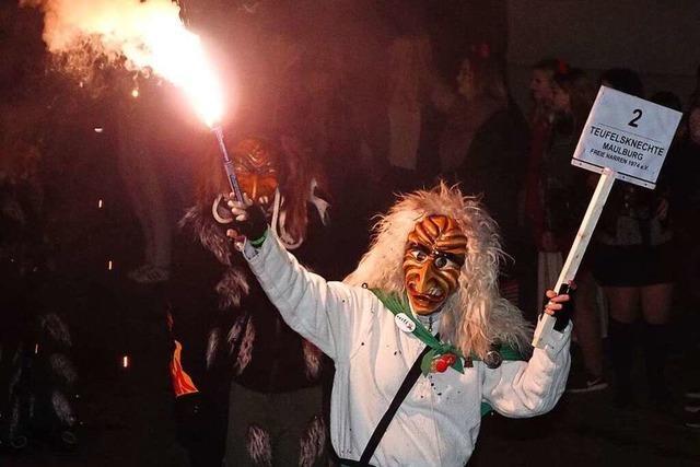 Fotos: Schaurig-schön war's beim Nachtumzug in Maulburg