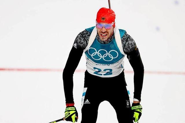 Arnd Peiffer holt Olympia-Gold im 10-km-Sprint