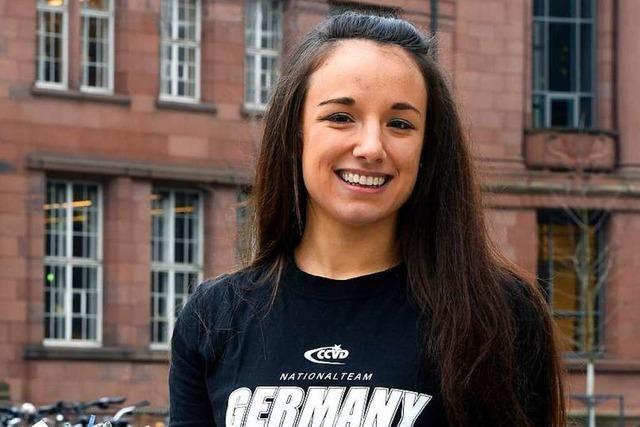 Freiburger Studentin Jasmin Bauersfeld fährt zur Pomdance-Weltmeisterschaft
