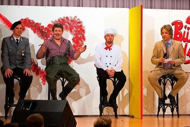 Fotos: Beim Zunftball der Lenzkircher Dengele gab's