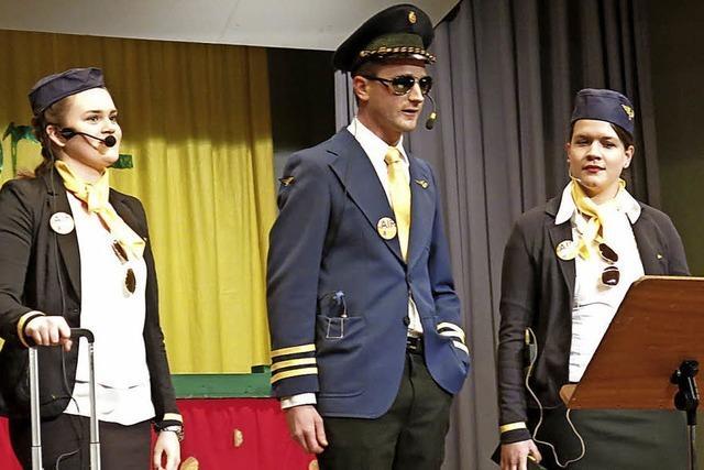 An Bord der Krüts-Air