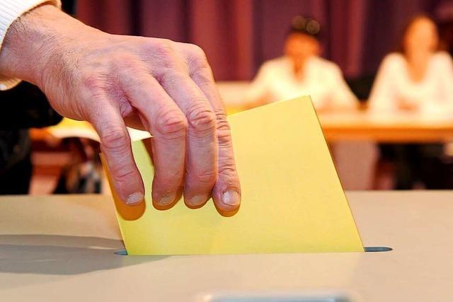 Die Wahlbeteiligung bei den Freiburger OB-Wahlen nimmt seit Jahrzehnten ab