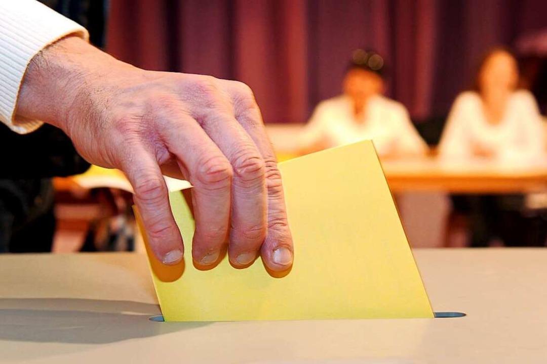 Am 22. April wird der neue Freiburger OB gewählt.  | Foto: dpa