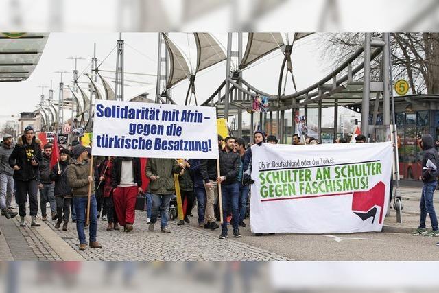 Demo gegen türkische Intervention in Nordsyrien