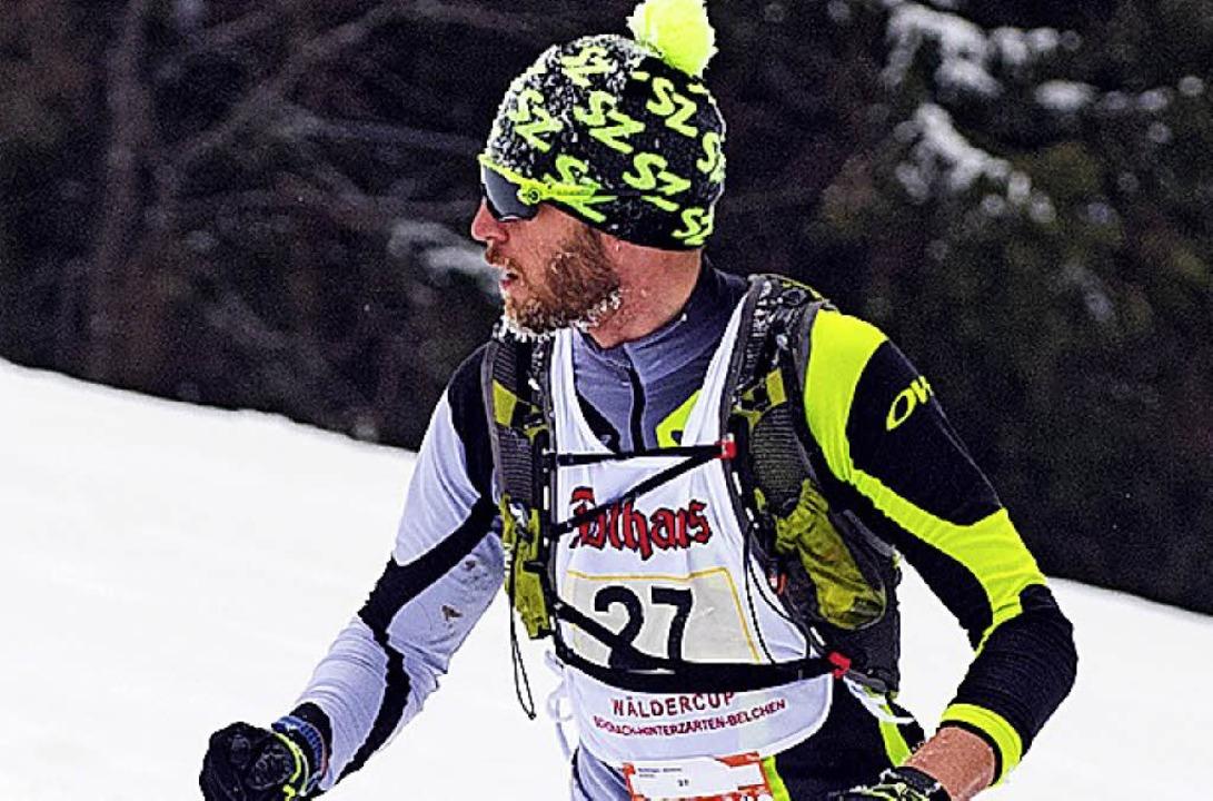 Als Fünfter im Ziel: Matthias Bettinger aus Breitnau    Foto: scheu