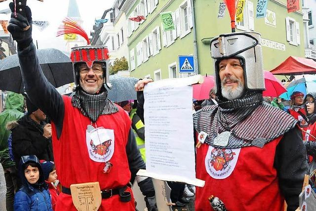 Fotos: Buntes Narrentreiben in Zell