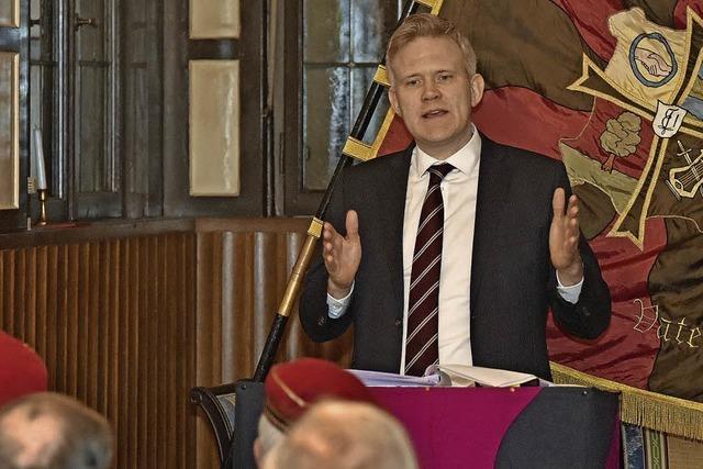 Britischer Vize-Botschafter spricht in Freiburg über den Brexit