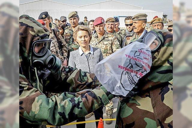 Die Bundeswehr soll ihren Einsatz im Irak ausweiten