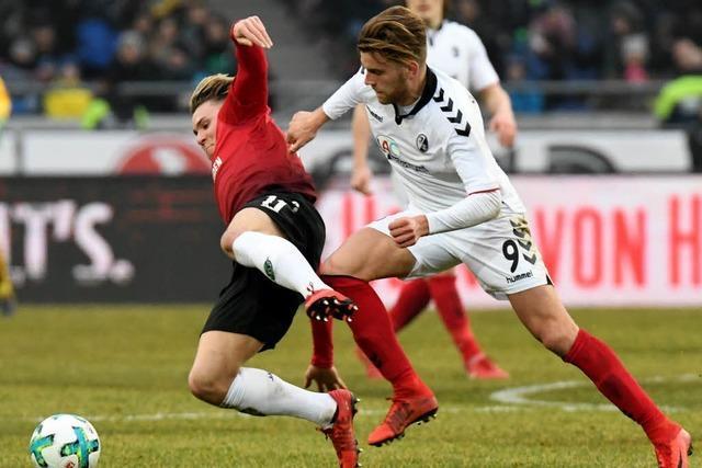 Dem SC Freiburg fehlt es in Hannover an Comeback-Qualität