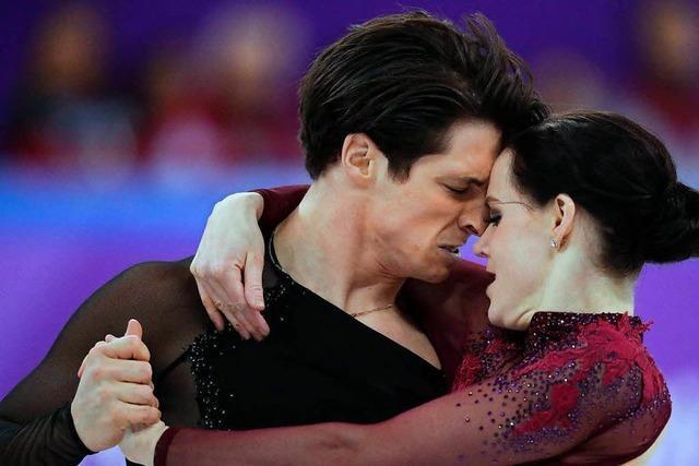 Gold für Kanadas Eiskunstläufer im Team
