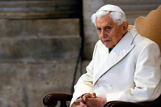 Selbst seine Kritiker lassen heute Milde gegen Benedikt XVI. walten