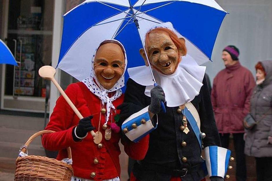 Bunte Kostüme, vergnügte Zünfte und gutgelaunte Narren am Fasnachtssonntag. (Foto: Louis Groß)