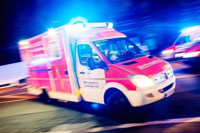 Maulburg: 60-Jähriger bei Unfall verletzt