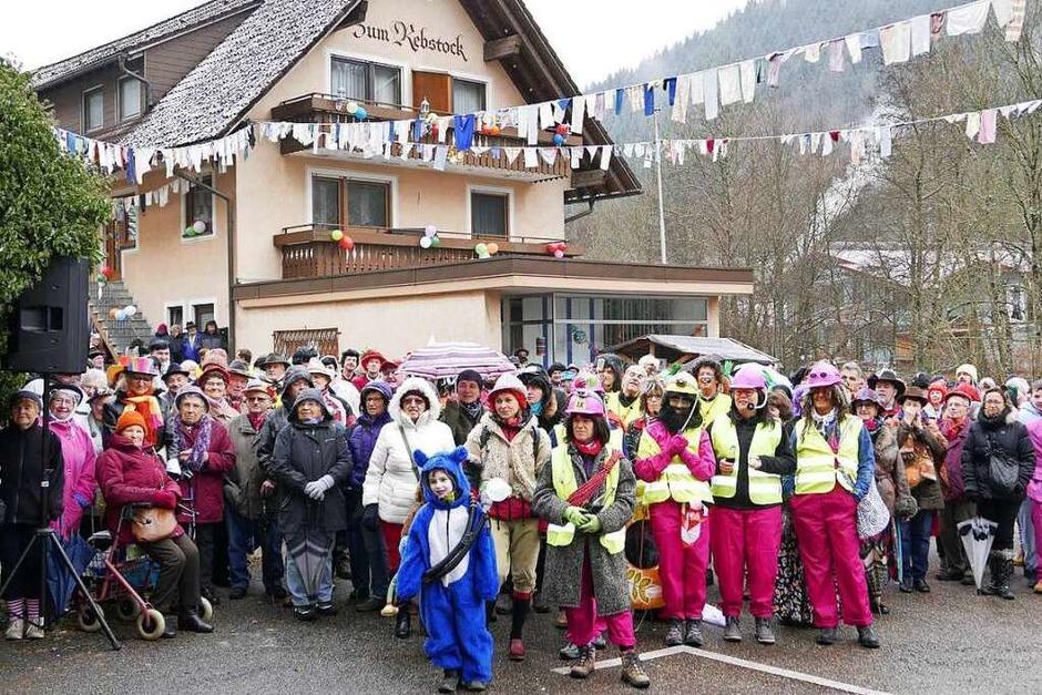 Narrentreiben in Obersimonswald (Foto: Horst Dauenhauer)