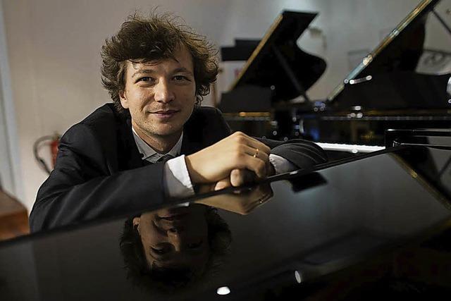 Virtuose Mikhail Mordvinov in Sulzburg-Laufen