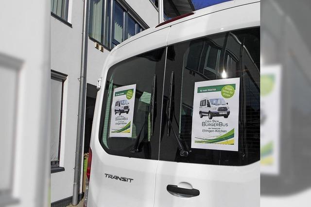 Bürgerbus: ab Ostern einen Tag mehr