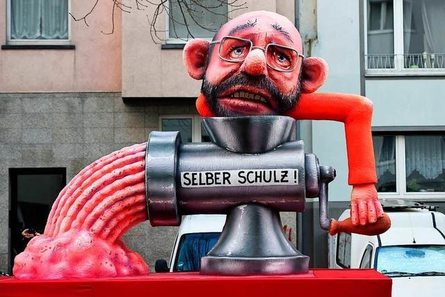 Am Rosenmontag ist die deutsche Politik ist dankbares Opfer