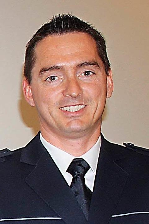 Christoph Dümmig, Leiter des Polizeireviers Schopfheim.  | Foto: Hans-Jürgen Hege