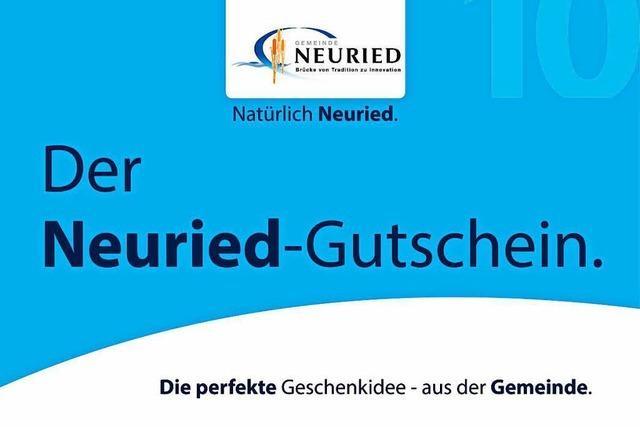 Den Neuried-Gutschein gibt's jetzt für alle