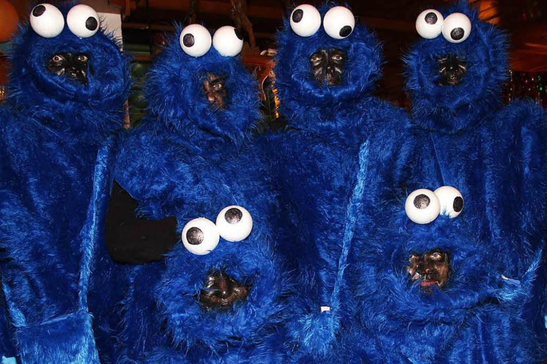 Kekse wollten auch diese Krümmelmonster.  | Foto: Eva Korinth