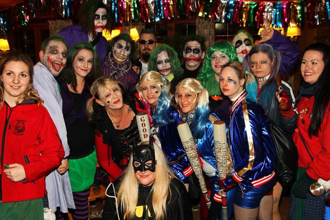 Joker und seine Freunde.  | Foto: Eva Korinth