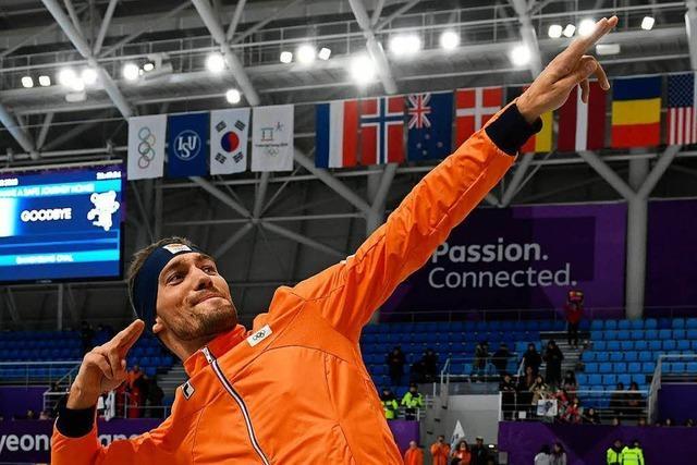 Oranje-Festival geht weiter: Viertes Gold durch Kjeld Nuis