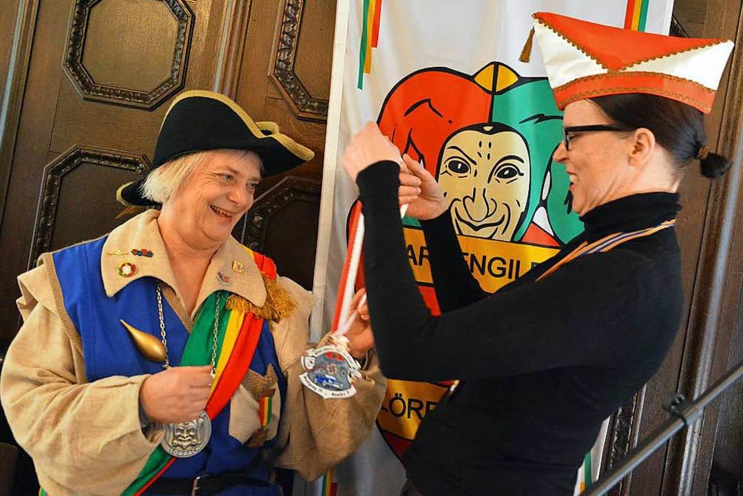 Ein rheinischer  Orden für Prinzessin Margarethe I.  | Foto: Barbara Ruda