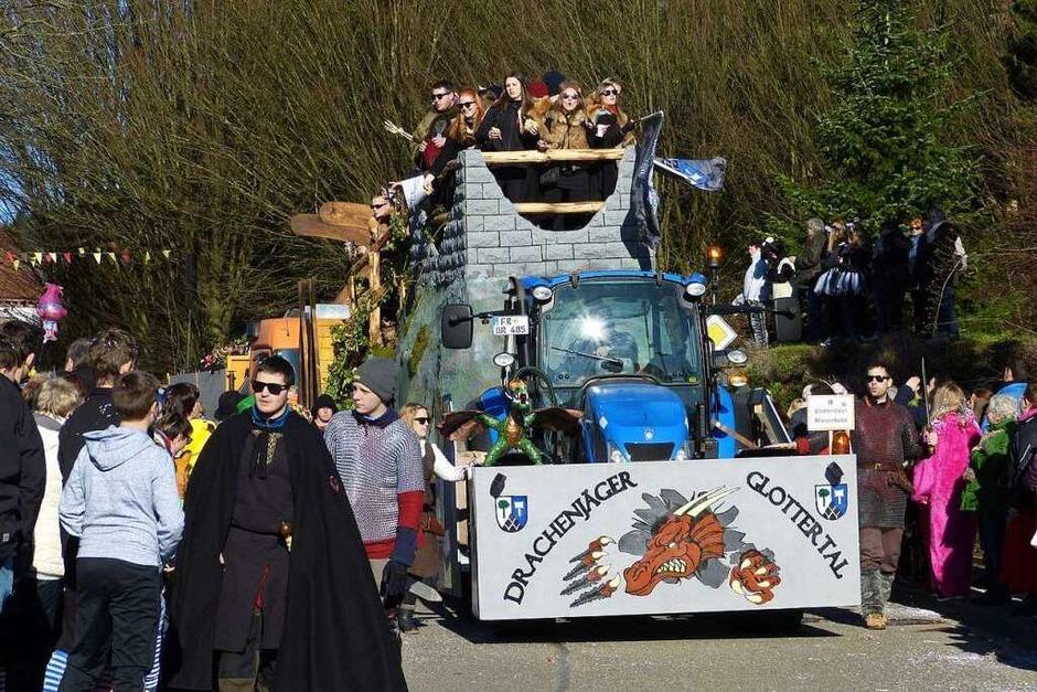 Heimbacher Umzug: Gäste aus dem Glottertal (Foto: Aribert Rüssel)