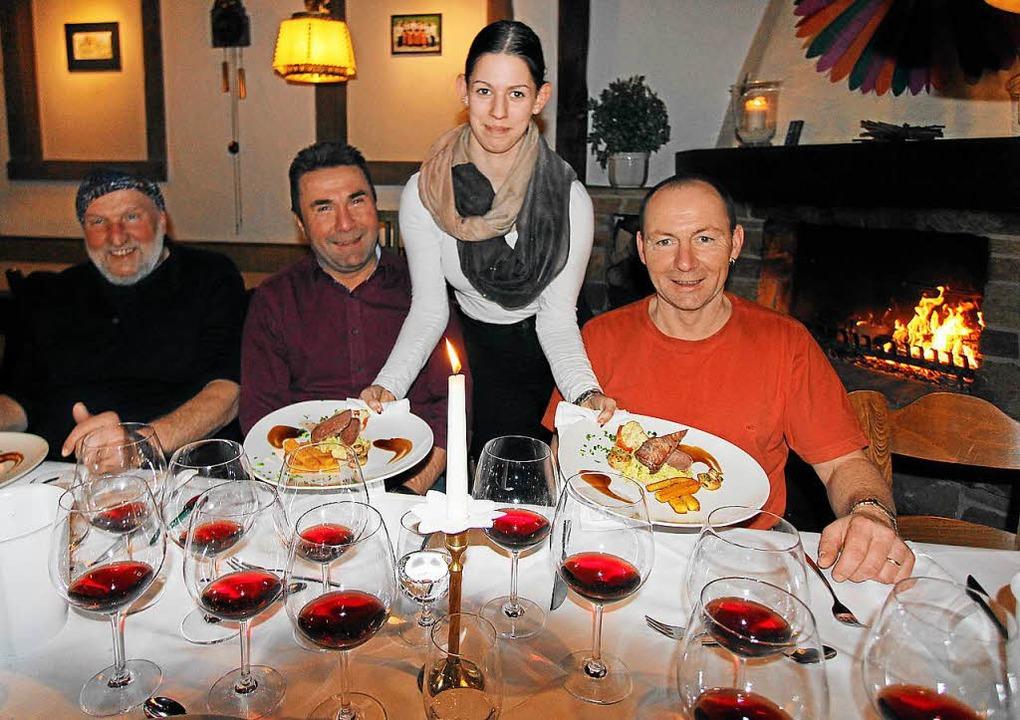 Welche Rotweine passen zu dem bei der ...ne bei der Rotweinnacht vertreten ist.    Foto: Herbert Trogus