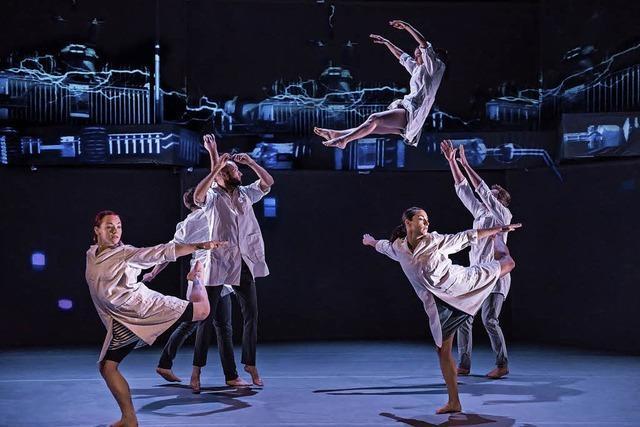 Britische Tanzcompagnie Motionmouse mit