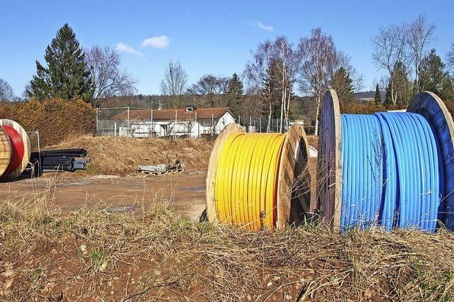 Breitbandtrommeln sollen bis März weggeräumt sein