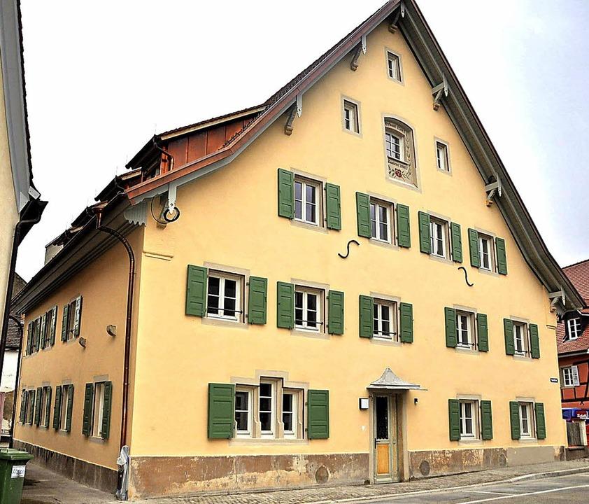 Auf der Zielgeraden: Die Tagespflege im Alten Spital in Staufen.  | Foto: Rainer Ruther