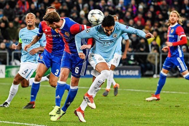 Lehrstunde für den FC Basel gegen Manchester City