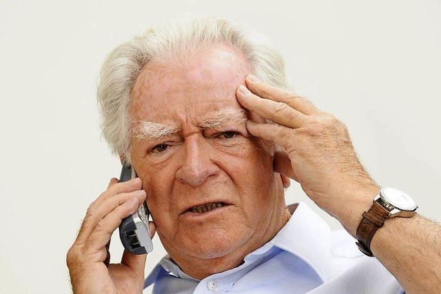 Versuchte Telefonabzocke in Lörrach – Senior lässt Anrufer abblitzen
