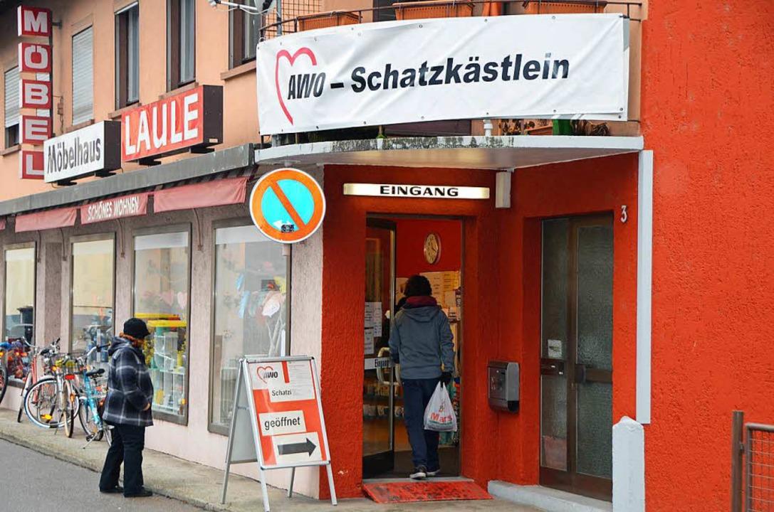 Die AWO möchte eine Zweigstelle des Schatzkästleins eröffnen.  | Foto: Ingrid Böhm-Jacob